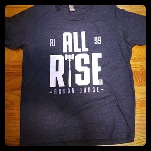 Gray Aaron Judge All Rise T-Shirt